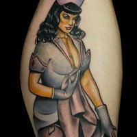 Bettie Page, pin-up girl